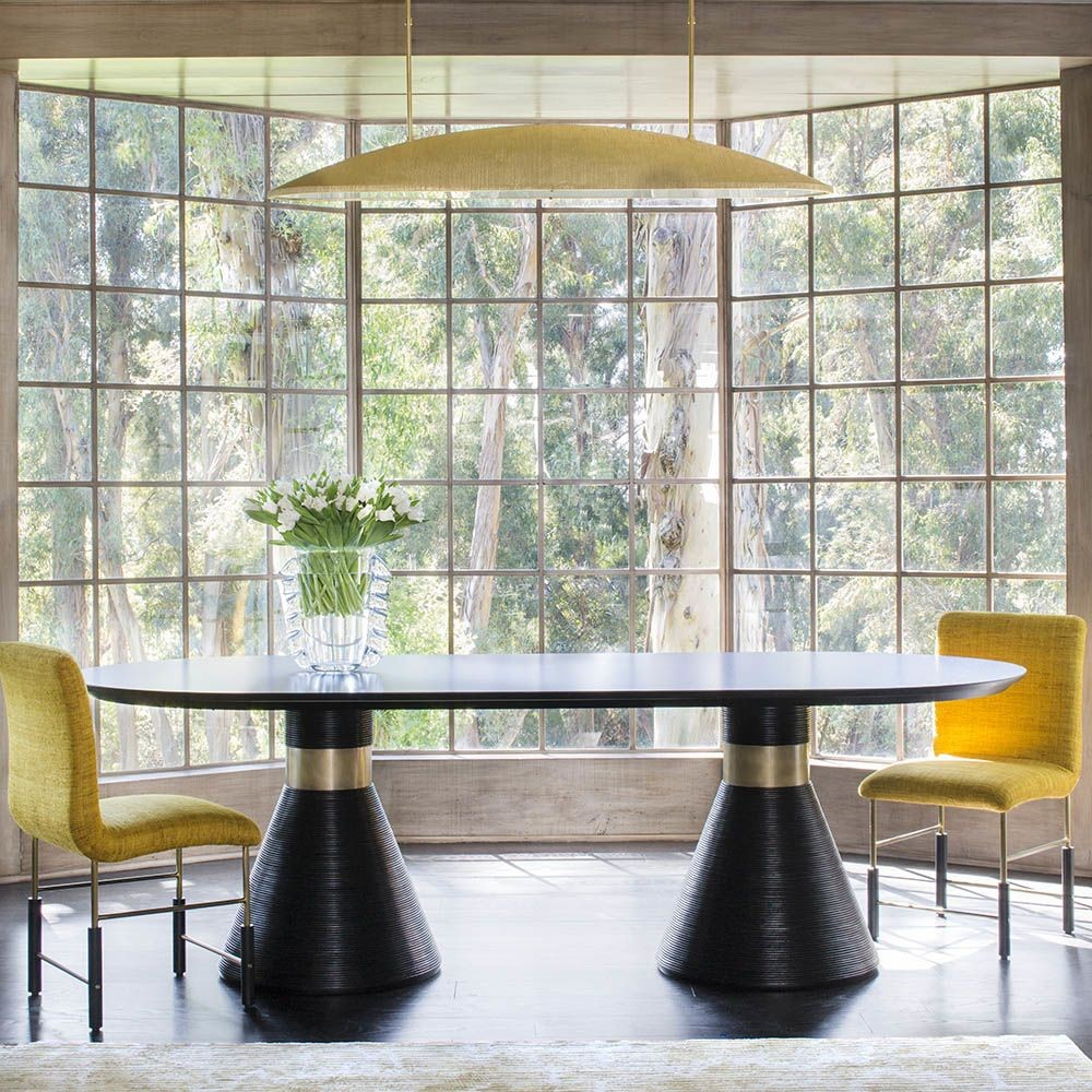 The Perfect Element For Stylish Settings: 25 Dining Tables You'll Love dining tables The Perfect Element For Stylish Settings: 25 Dining Tables You'll Love miramar kelly