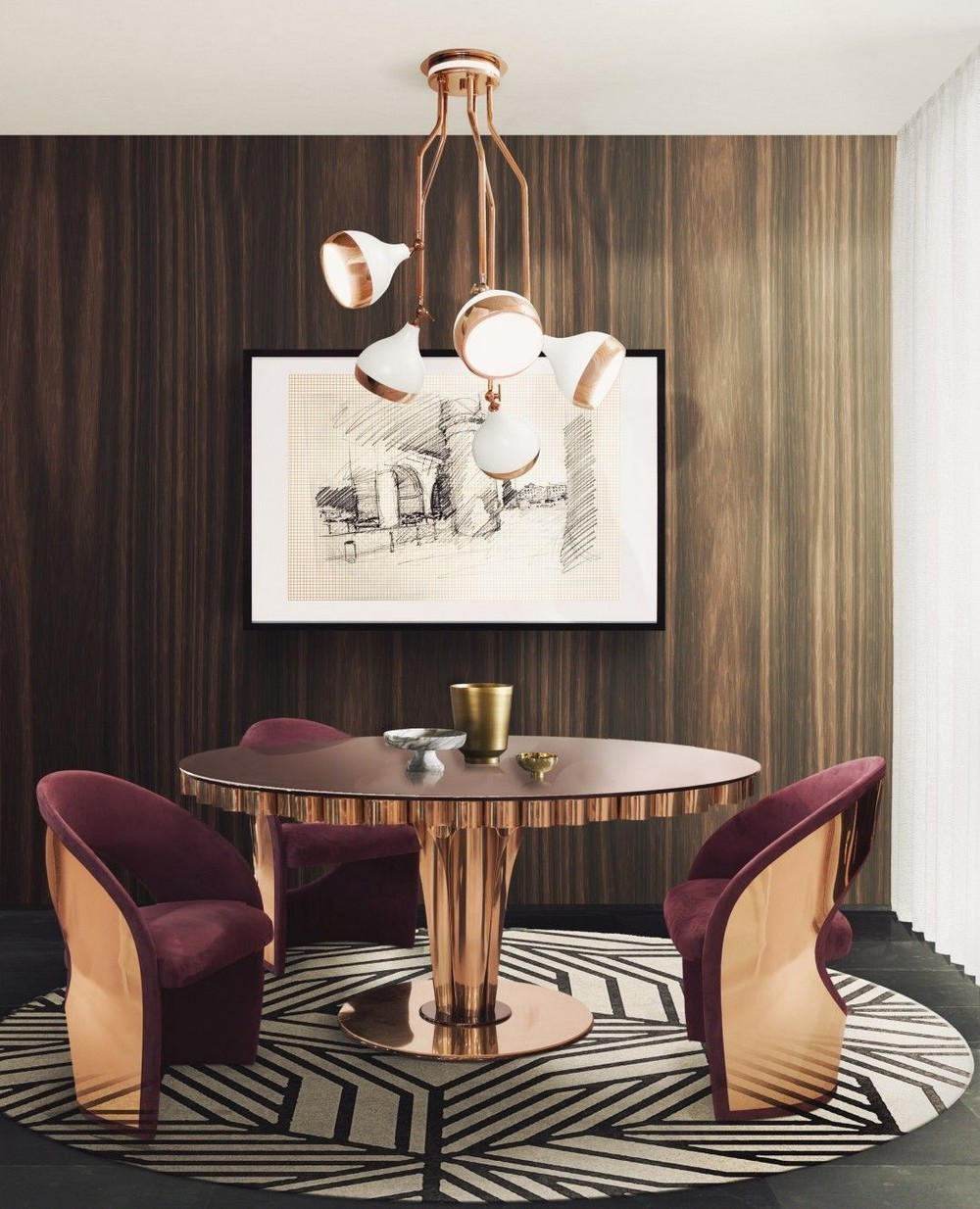 The Perfect Element For Stylish Settings: 25 Dining Tables You'll Love dining tables The Perfect Element For Stylish Settings: 25 Dining Tables You'll Love wormkley