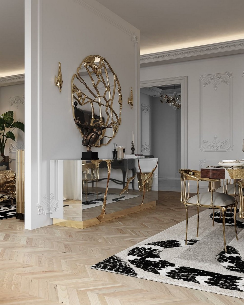 Get The Look Of This Luxury Dining Room Inside A Parisian Penthouse luxury dining room Get The Look Of This Luxury Dining Room Inside A Parisian Penthouse 146308926 3941193722577747 2572437716199205802 n