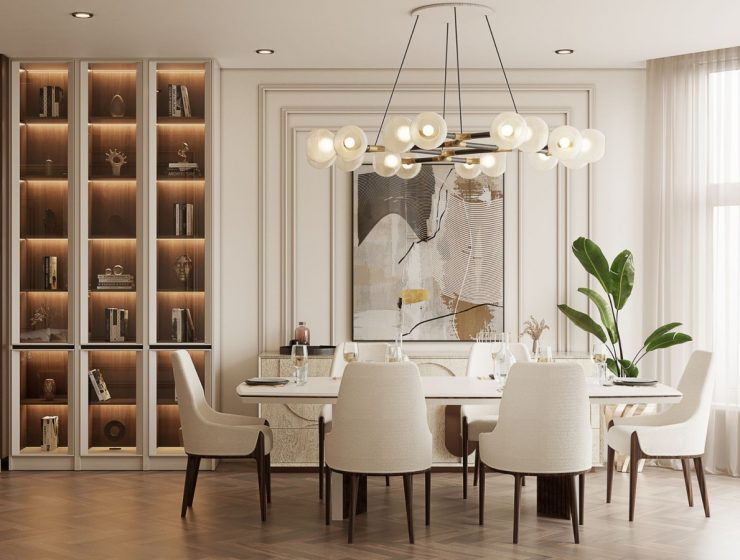 dining room This Modern Dining Room Blends Ergonomy and High-end Design Flawlessly featured 2021 02 25T173252