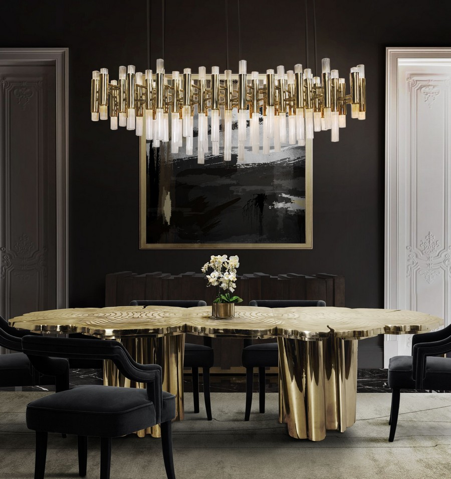 Dining Room Ideas To Set The Course For A Stylish 2021 dining room ideas Dining Room Ideas To Set The Course For A Stylish 2021 golden details