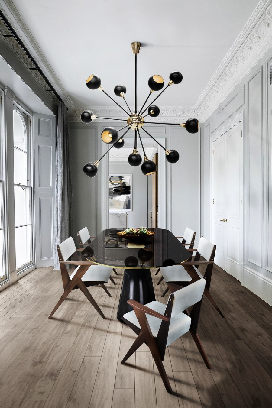 Dining Room Ideas To Set The Course For A Stylish 2021 dining room ideas Dining Room Ideas To Set The Course For A Stylish 2021 lighting is key