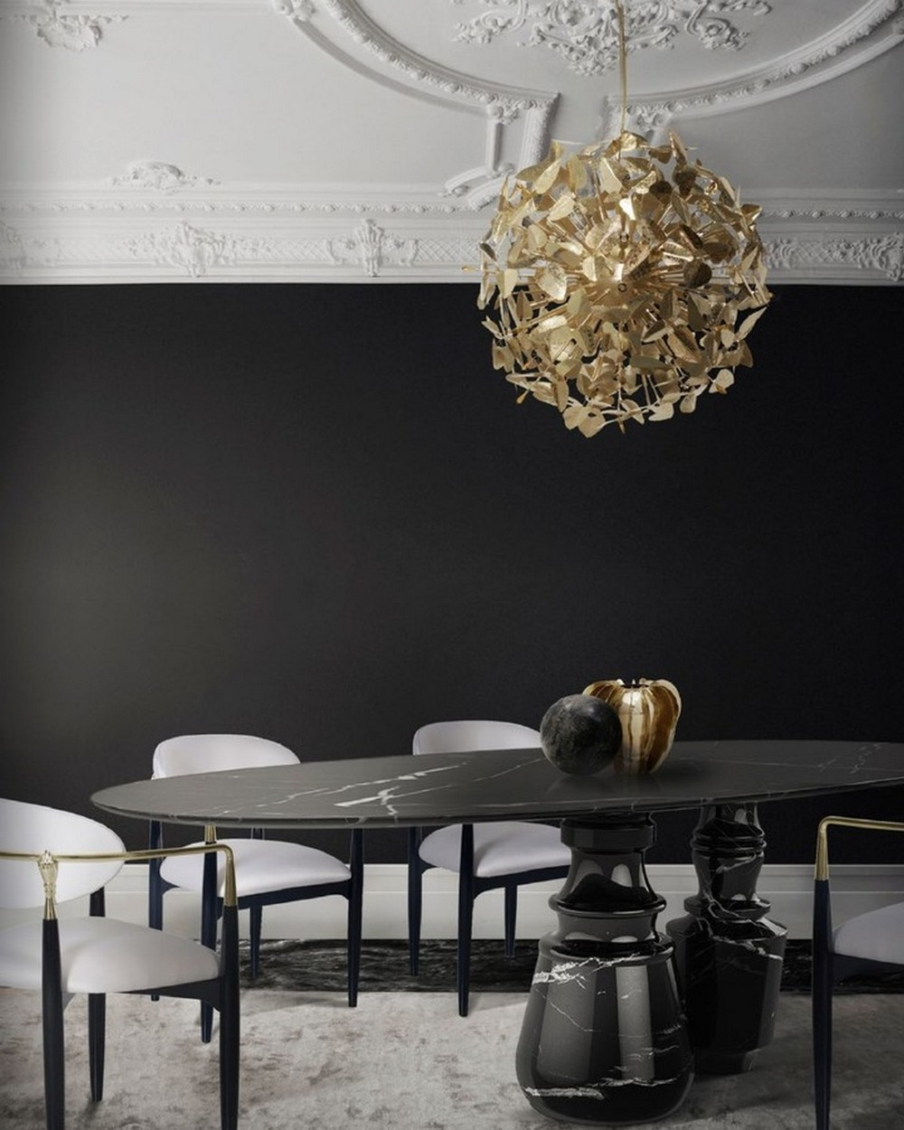How To Use Black To Create A Thrilling Luxury Dining Room luxury dining room How To Use Black To Create A Thrilling Luxury Dining Room 154729127 227716625740995 2224958982904527563 n