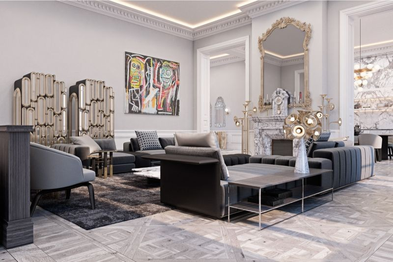 The Best Interior Design Projects In Paris (Part II) interior design projects in paris The Best Interior Design Projects In Paris (Part II) A Private Residence In France by Diff Studio