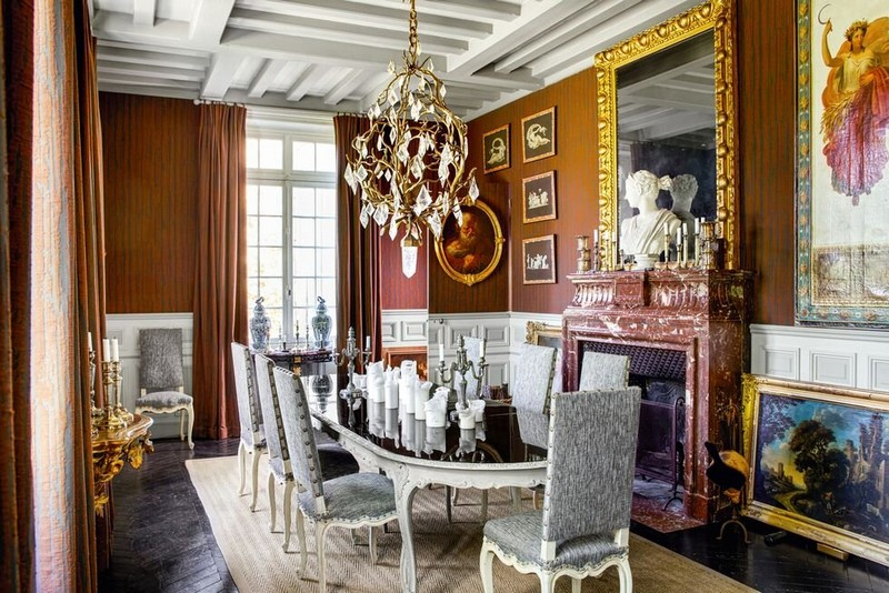 The Best Interior Design Projects In Paris interior design projects in paris The Best Interior Design Projects In Paris Historic French Manor by Jean Louis Deniot 1