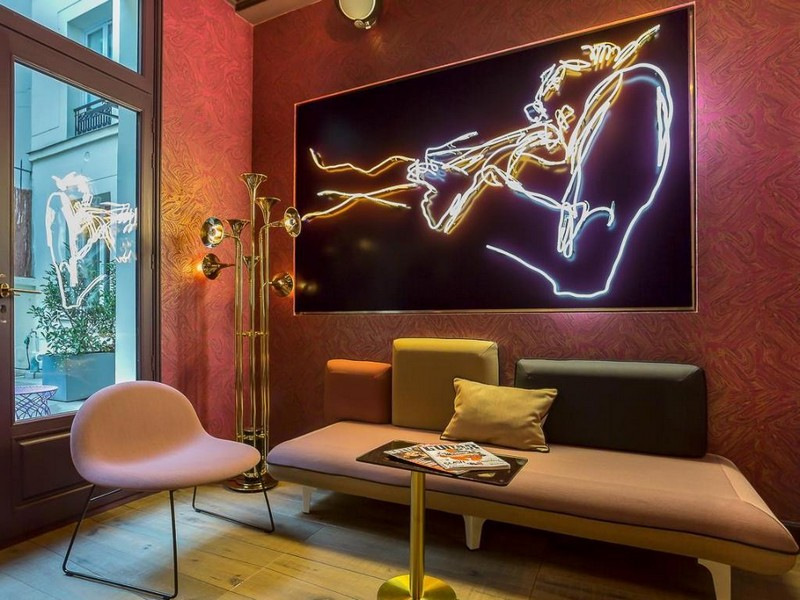 The Best Interior Design Projects In Paris (Part II) interior design projects in paris The Best Interior Design Projects In Paris (Part II) Idol Hotel