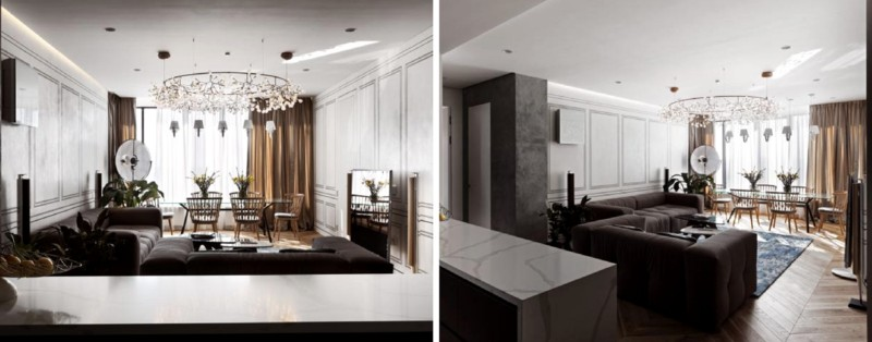The Best Interior Design Projects In Kyiv interior design projects in kyiv The Best Interior Design Projects In Kyiv Kiev Wonderful projects Stylish displays of sophistication6 1