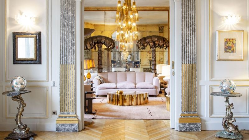 The Best Interior Design Projects In Paris (Part II) interior design projects in paris The Best Interior Design Projects In Paris (Part II) Modern Abode by Philippe Rapin and Sylvie de Chiree