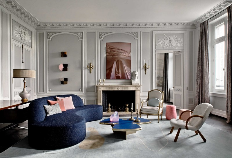 The Best Interior Design Projects In Paris (Part II) interior design projects in paris The Best Interior Design Projects In Paris (Part II) Parisian Luxury Home by Jean Louis Deniot