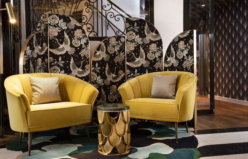 interior design projects in paris The Best Interior Design Projects In Paris (Part II) Victor Hugo Hotel Project by Laurent Maugoust 1