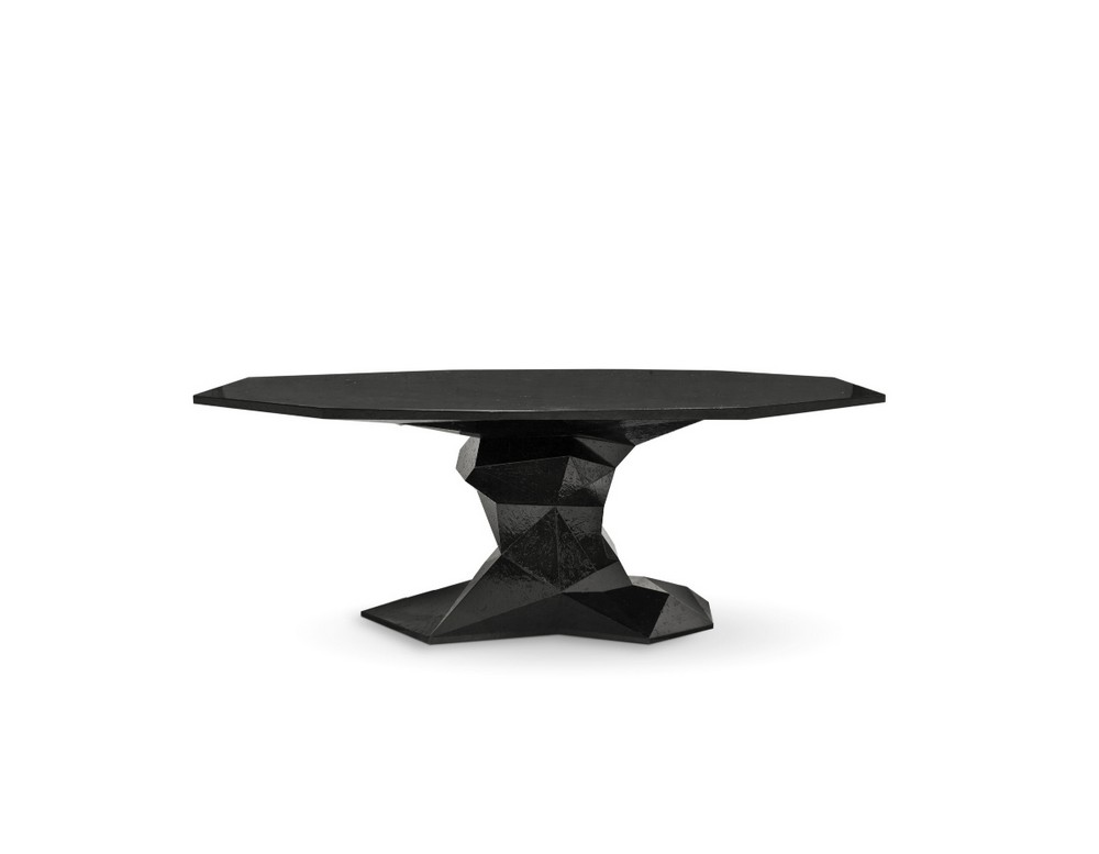 How To Use Black To Create A Thrilling Luxury Dining Room luxury dining room How To Use Black To Create A Thrilling Luxury Dining Room bonsai black boca do lobo 01
