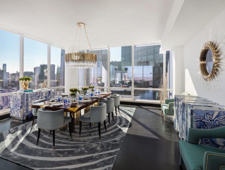 MILLIONAIRE'S DELUXE APARTMENT IN NYC BY COVET HOUSE COVET NYC 1 1 740x560 dining tables & chairs Home page COVET NYC 1 1 740x560