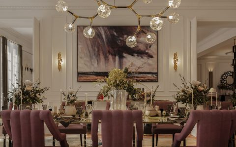 contemporary design Blending Classic And Contemporary Design In This Parisian Dining Room feat 2021 04 22T100030