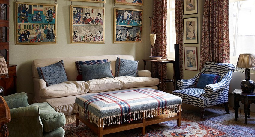 robert kime A Signature Atmosphere of Comfort and Ease by Robert Kime kensington