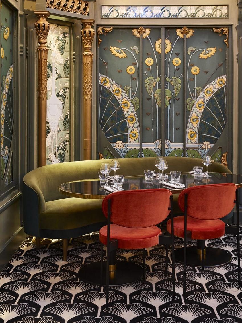 humbert & poyet Discover The Luxury Design Elements of Humbert & Poyet mid century renowned beefbar paris 9