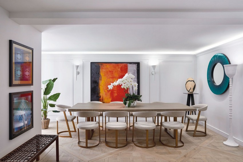 stéphanie coutas Blending Neoclassic and Contemporary Elements with Stéphanie Coutas townhouse said