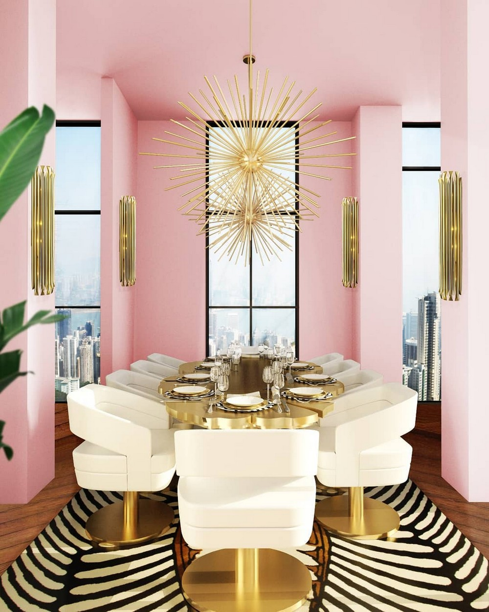 luxury dining rooms Searching For Inspiration? Here Are Our Favorite Luxury Dining Rooms 12