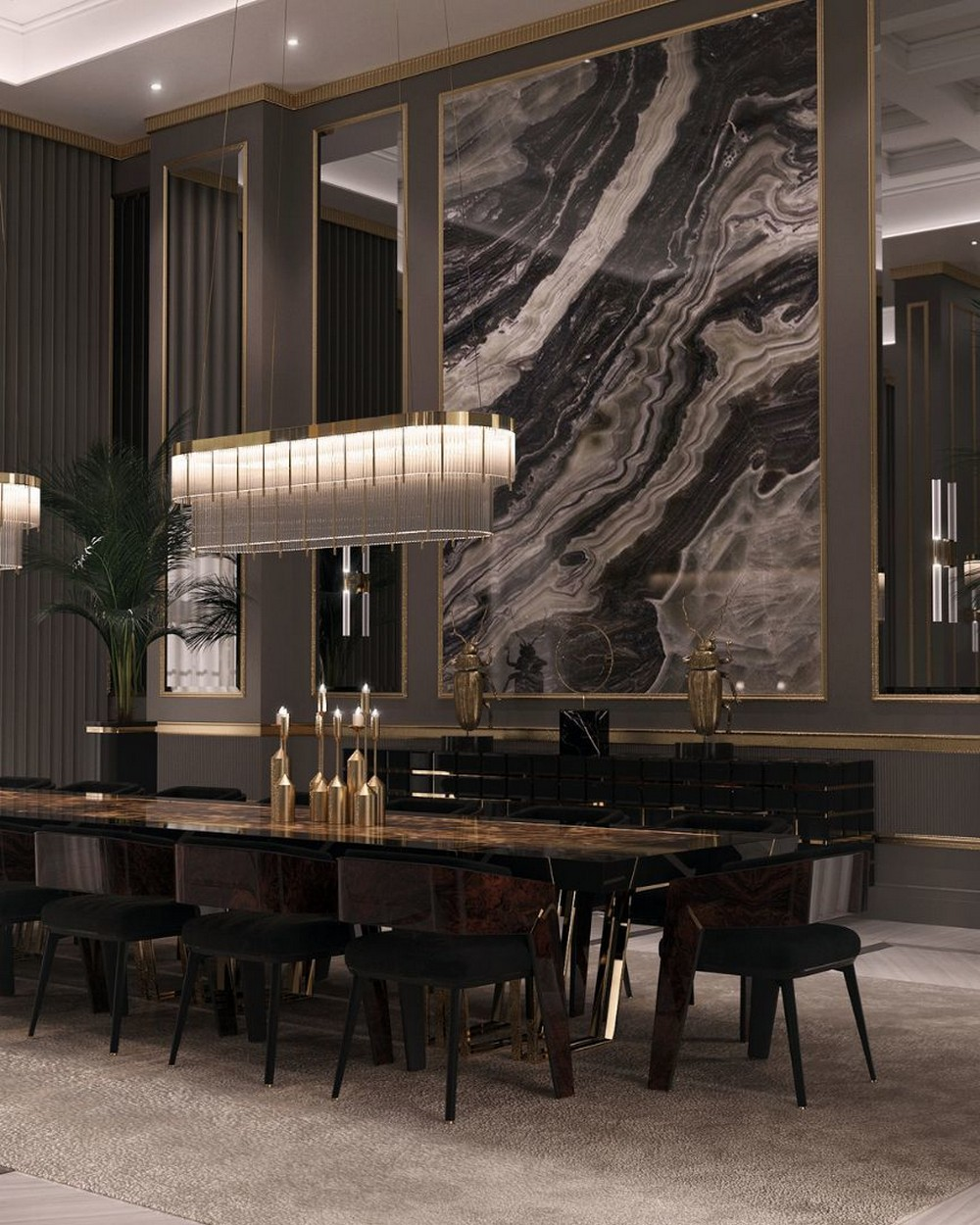 luxury dining rooms Searching For Inspiration? Here Are Our Favorite Luxury Dining Rooms 4
