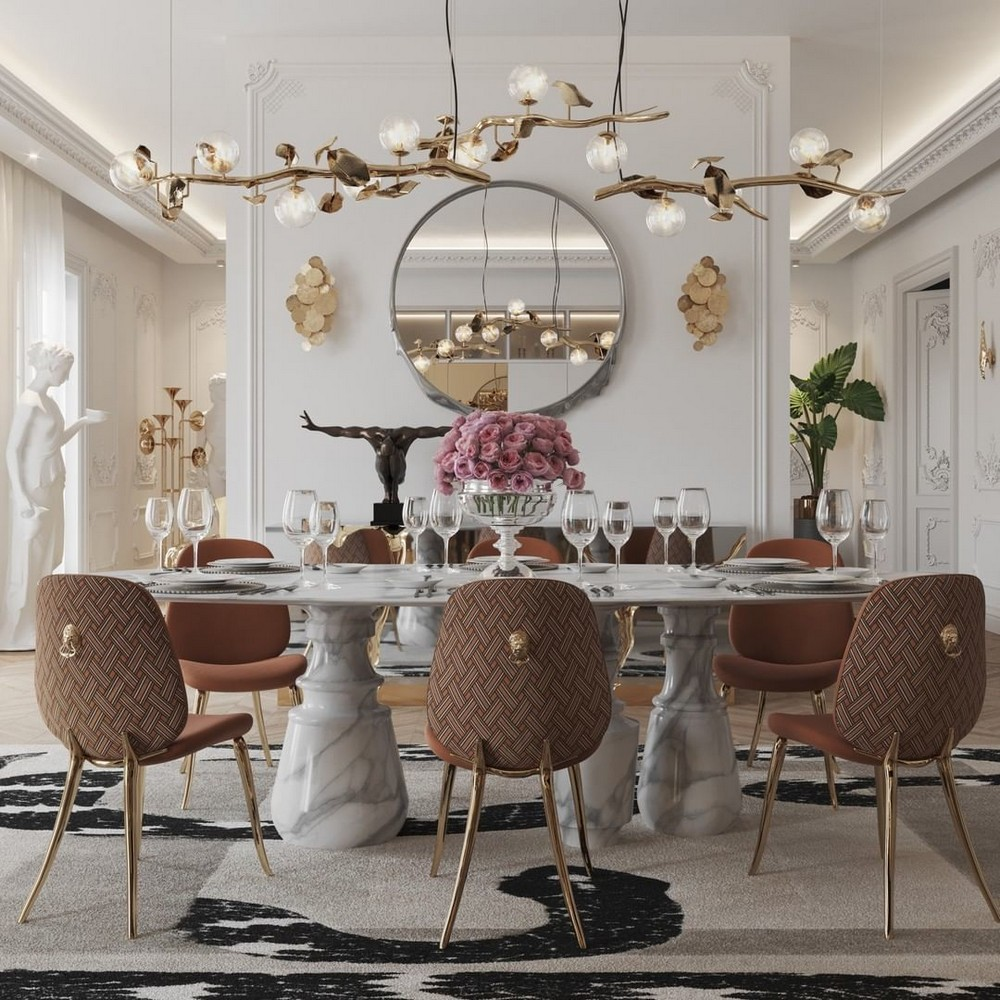 luxury dining rooms Searching For Inspiration? Here Are Our Favorite Luxury Dining Rooms 5