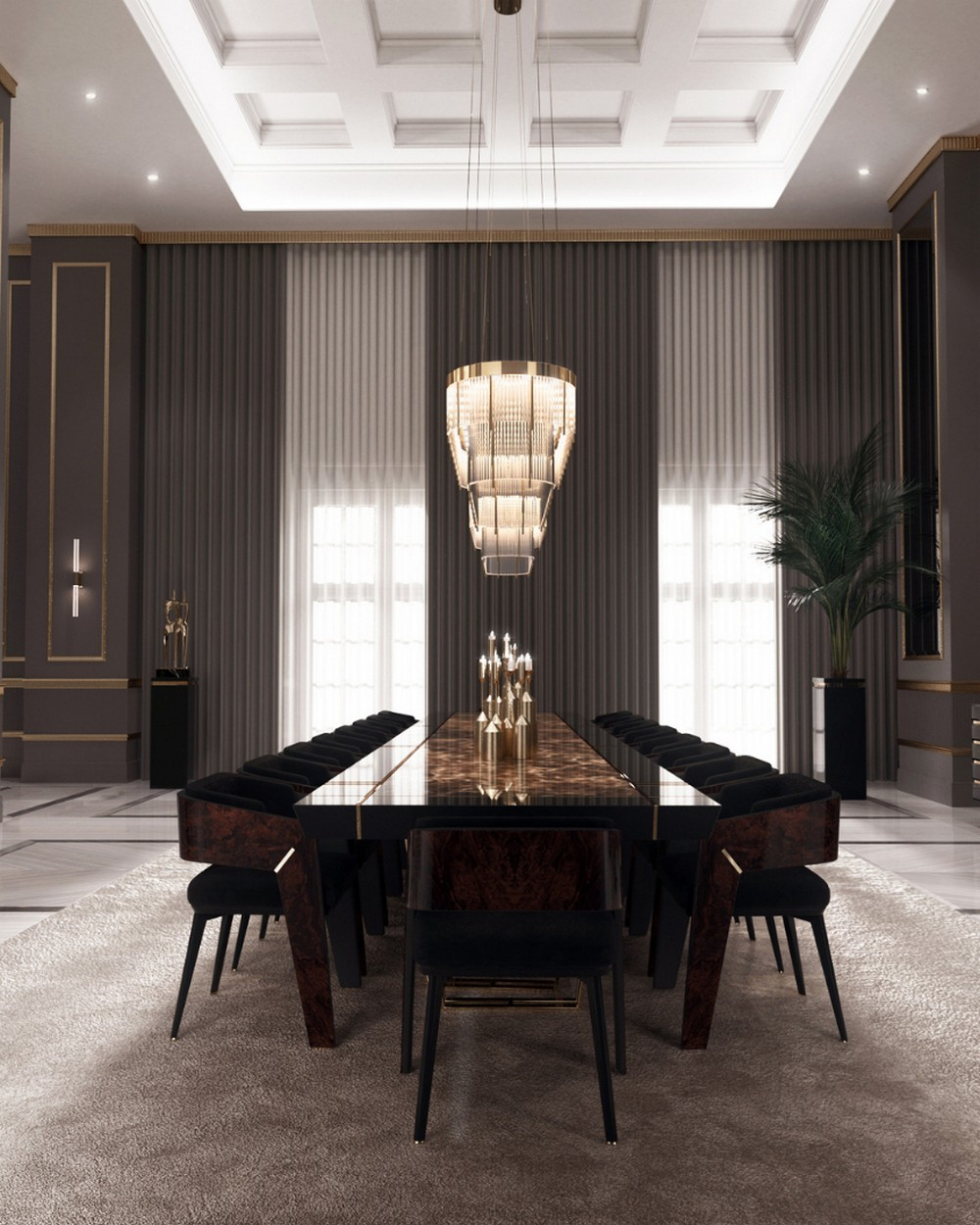 luxury dining rooms Searching For Inspiration? Here Are Our Favorite Luxury Dining Rooms 7