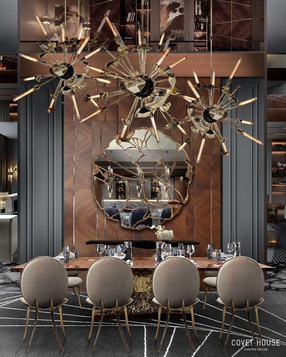 luxury dining rooms Searching For Inspiration? Here Are Our Favorite Luxury Dining Rooms 9
