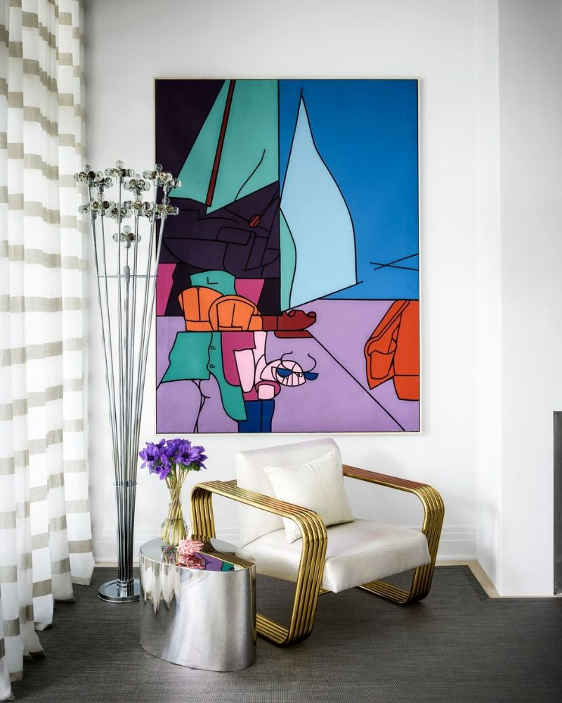 aman & meeks Aman & Meeks: Luxury Residential and Commercial Projects That Inspire A Luxury Home Filled With Adventurous Paintings And Sculptures 6