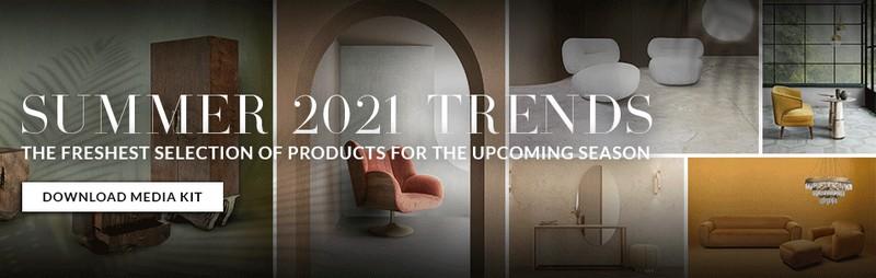 peter dunham Restraint With A Kick: Interior Design Projects by Peter Dunham Banner Summer Trends 2021