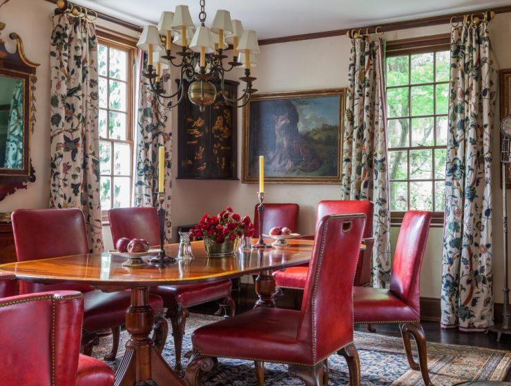 Richard Keith Langham: Lush Color, Pattern and A Mix of Old and New richard keith langham Richard Keith Langham: Lush Color, Pattern and A Mix of Old and New feat 2021 06 08T141253 dining tables & chairs Home page feat 2021 06 08T141253