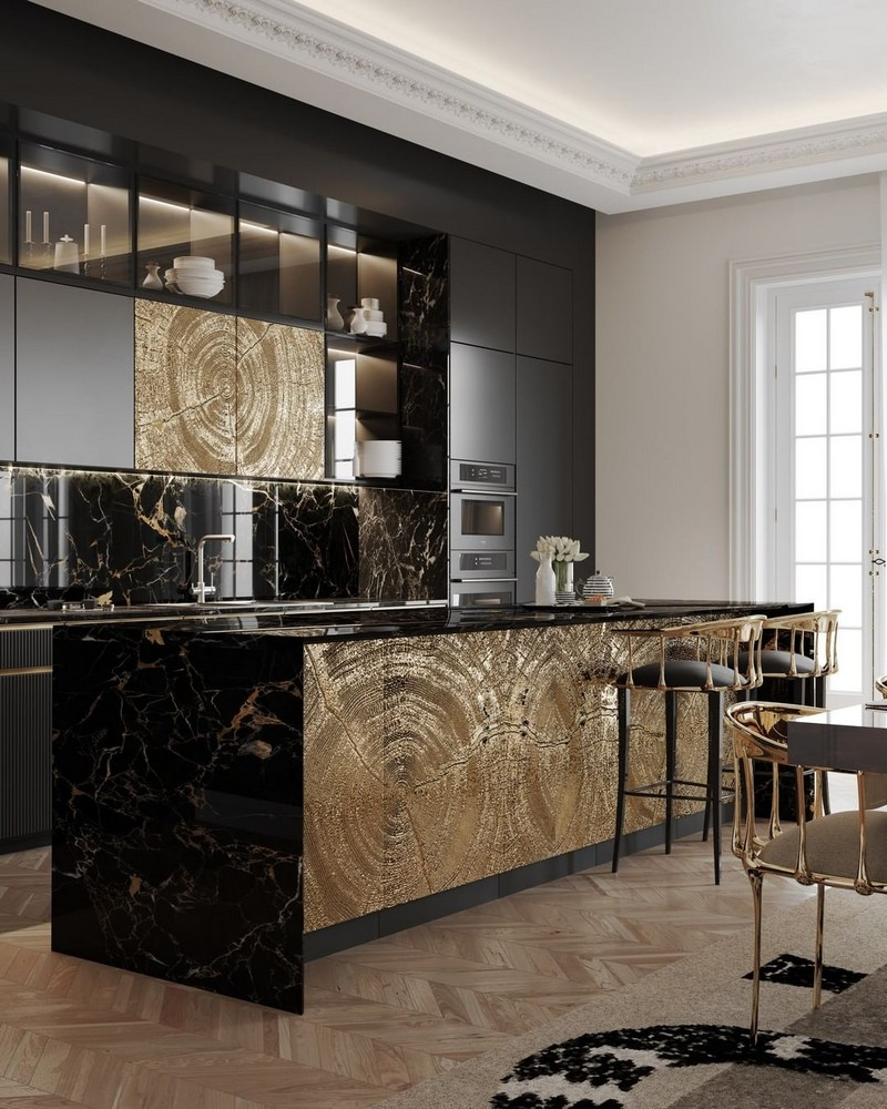 luxury kitchen Searching For Inspiration? Have A Look At These Luxury Kitchen Ideas modern kitchen decor ideas for 2021 1