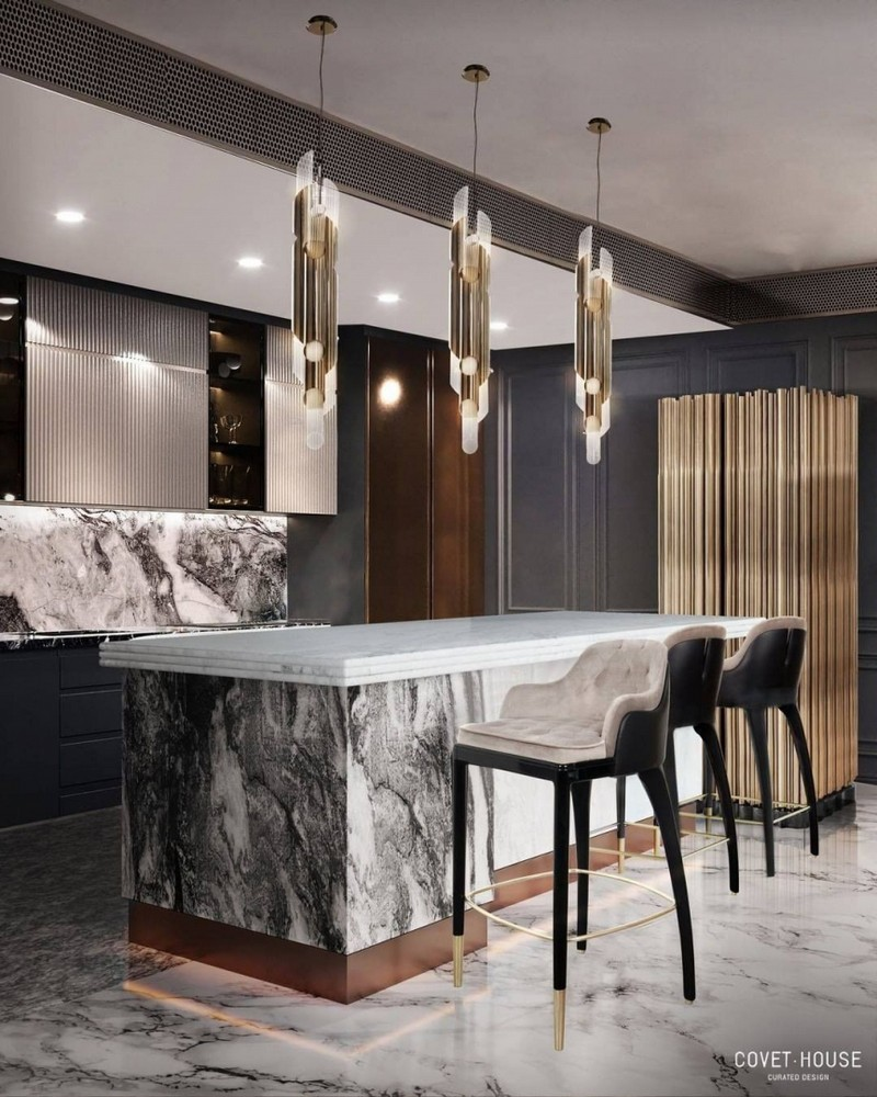luxury kitchen Searching For Inspiration? Have A Look At These Luxury Kitchen Ideas modern kitchen decor ideas for 2021 2