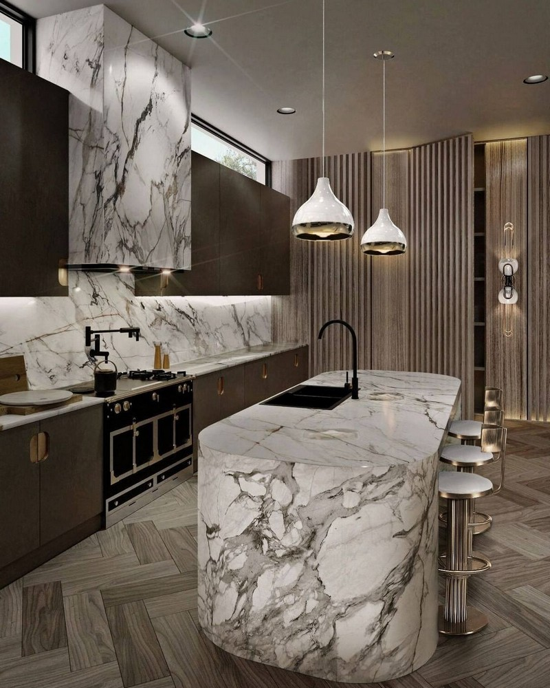luxury kitchen Searching For Inspiration? Have A Look At These Luxury Kitchen Ideas modern kitchen decor ideas for 2021 3