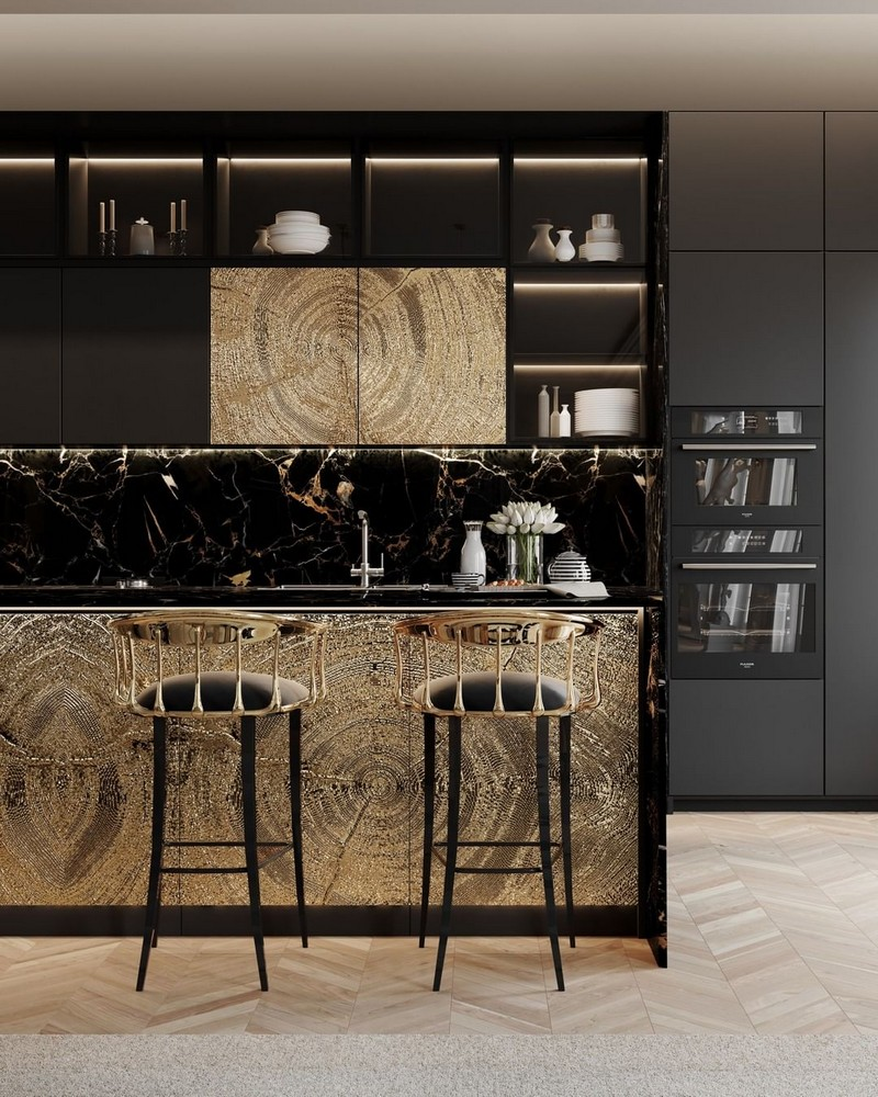 luxury kitchen Searching For Inspiration? Have A Look At These Luxury Kitchen Ideas modern kitchen decor ideas for 2021 5