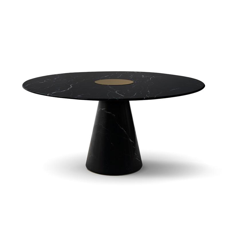 jamie bush Inside Jamie Bush's Top Interior Design Projects bertoia round dining table 1