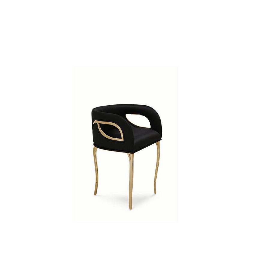 riyadh An Opulent Modern Classic Dining Room In Riyadh chandra chair koket 02