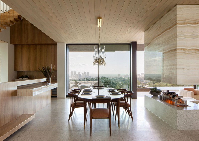 marmol radziner The Best Design Inspiration From Marmol Radziner marmol 04 dining