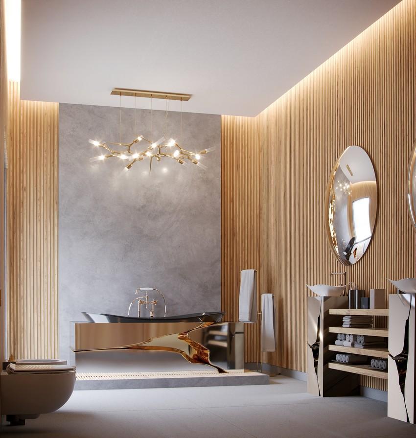 Extravagant Contemporary Master Bathroom by Natan Argente master bathroom Extravagant Contemporary Master Bathroom by Natan Argente vista 02