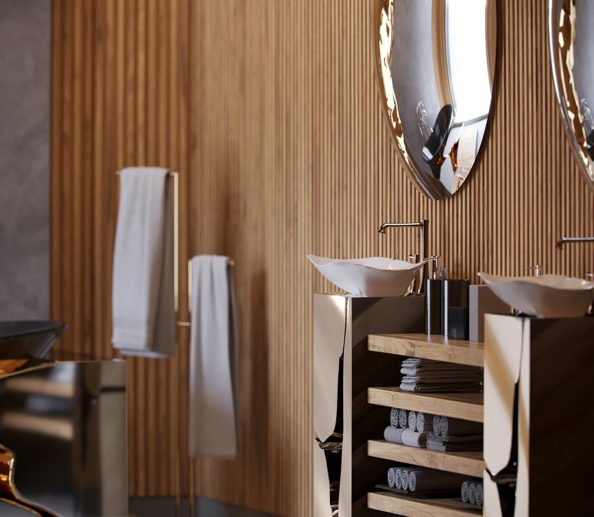 master bathroom Extravagant Contemporary Master Bathroom by Natan Argente vista 03