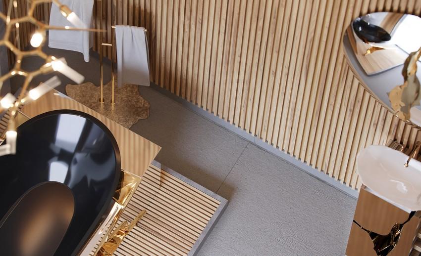 master bathroom Extravagant Contemporary Master Bathroom by Natan Argente vista 04